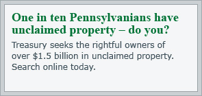 Search Unclaimed Property Pennsylvania